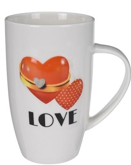 Hrnek porcelánový Love 400ml Provedení: C