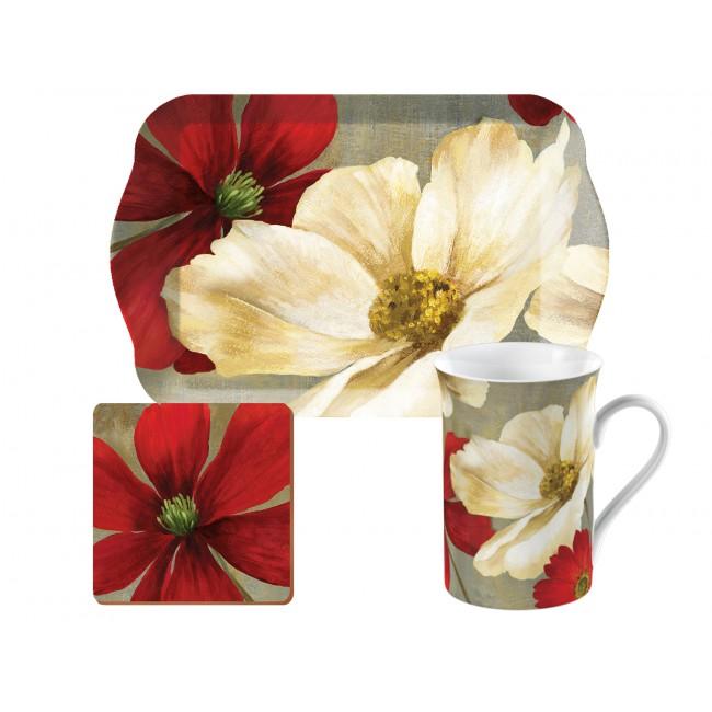 Creative Tops Dárkový čajový set Flower Study 3ks