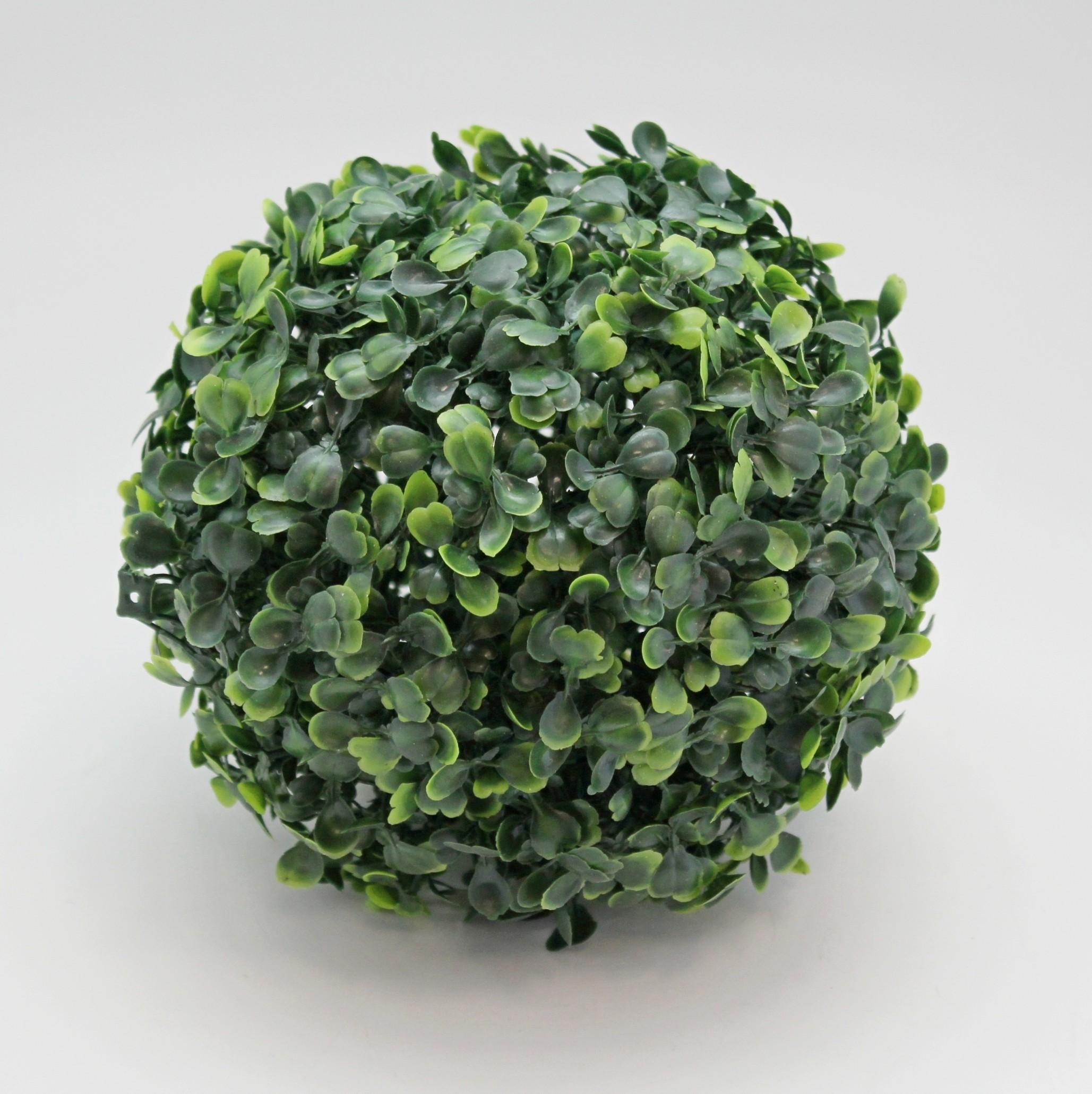 Buxus tmavě zelená koule Průměr: 18cm