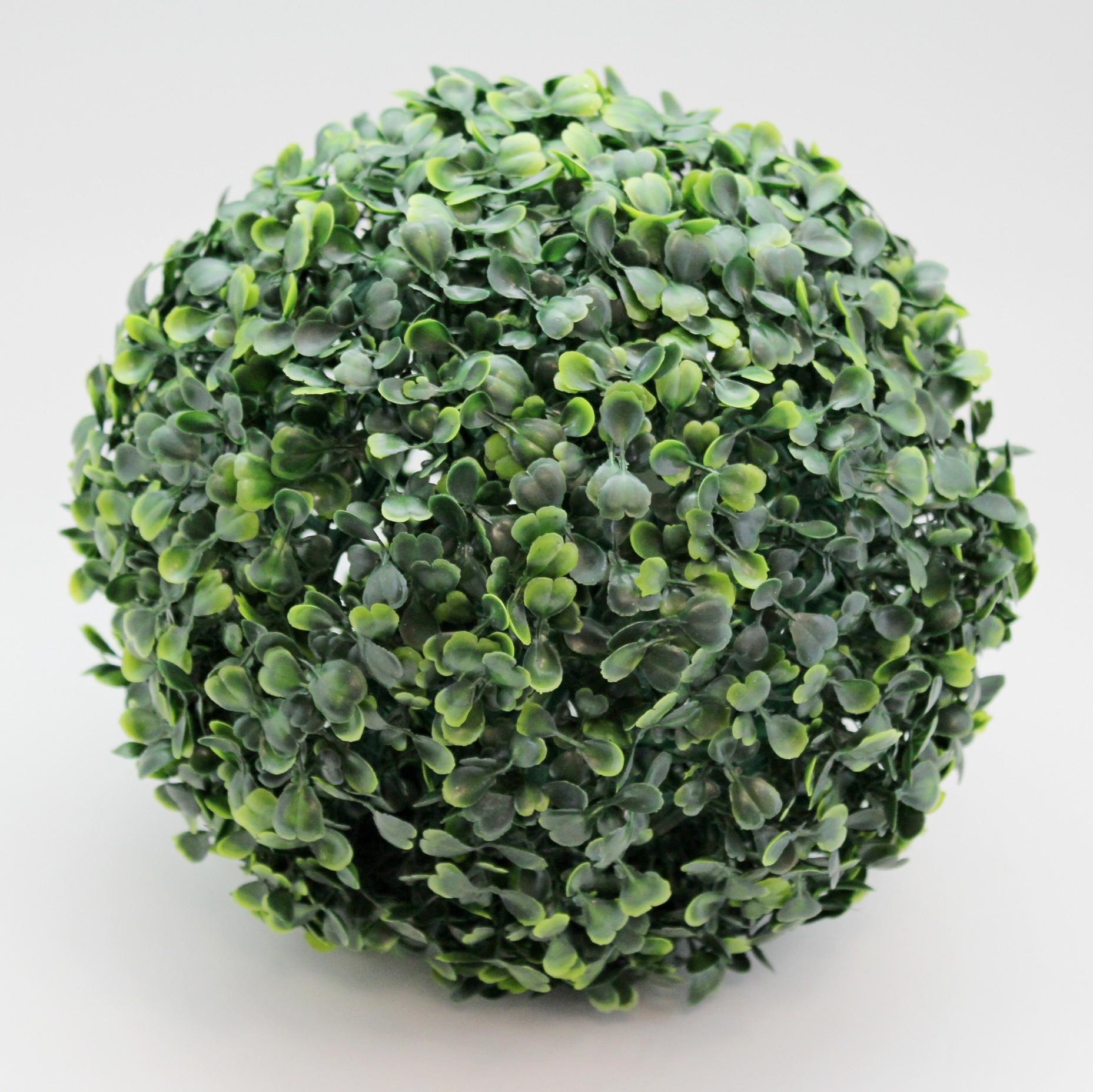 Buxus tmavě zelená koule Průměr: 28cm