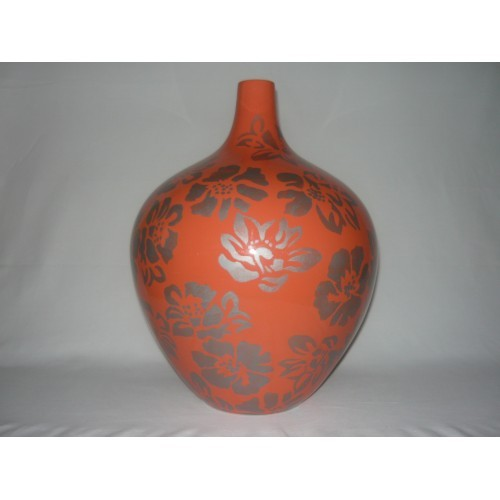 Ostatní Keramická váza s potiskem 30x42cm