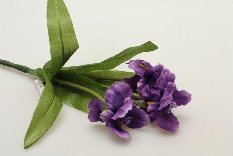 Harasim Iris umělá květina 35cm