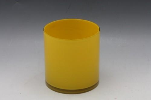 Skleněná váza obal 18x17cm
