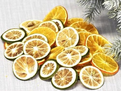 Sušený pomeranč a limetka 100g