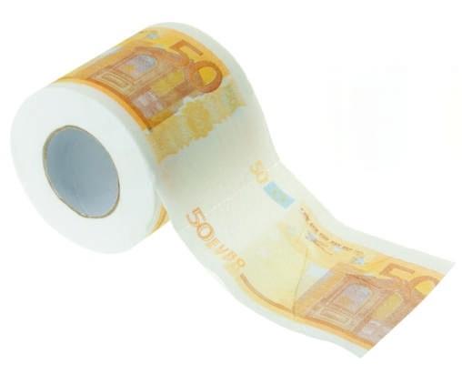 Toaletní papír Euro Barva: oranžová
