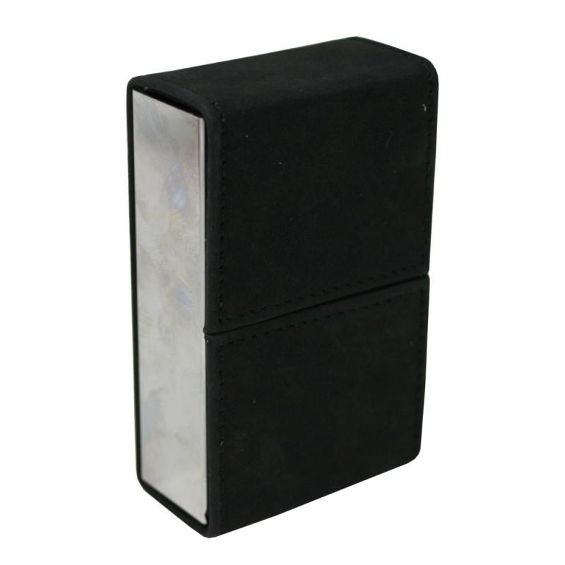 Pouzdro na cigarety kožené se zrcátkem Barva: černá