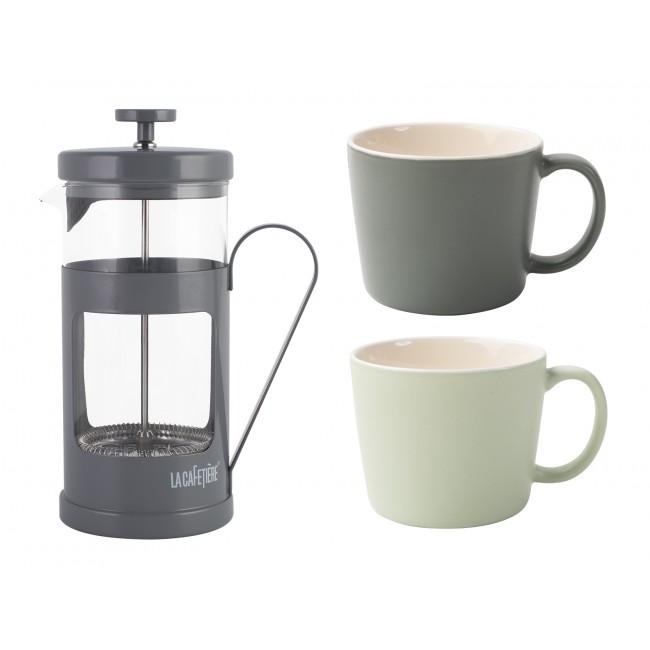 Creative Tops Kávový set pro dva Barva: šedá