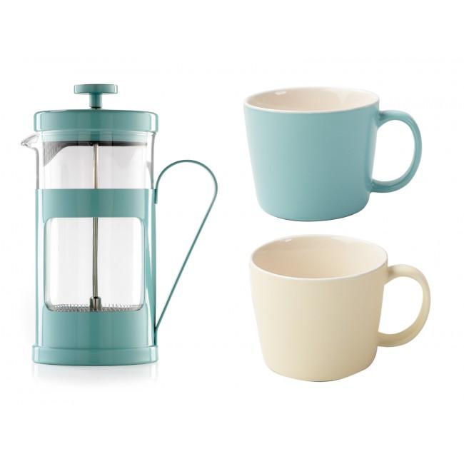 Creative Tops Kávový set pro dva Barva: modrá