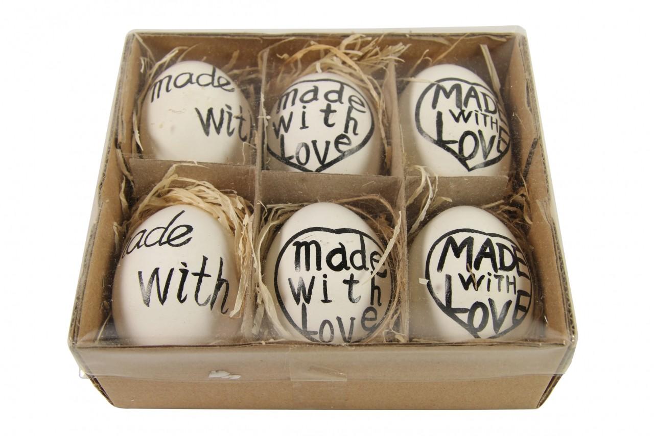 Velikonoční vajíčka sada 6ks