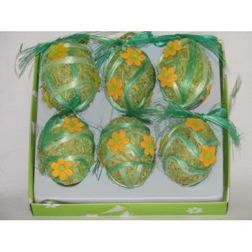 Sada velikonočních vajíček 6ks