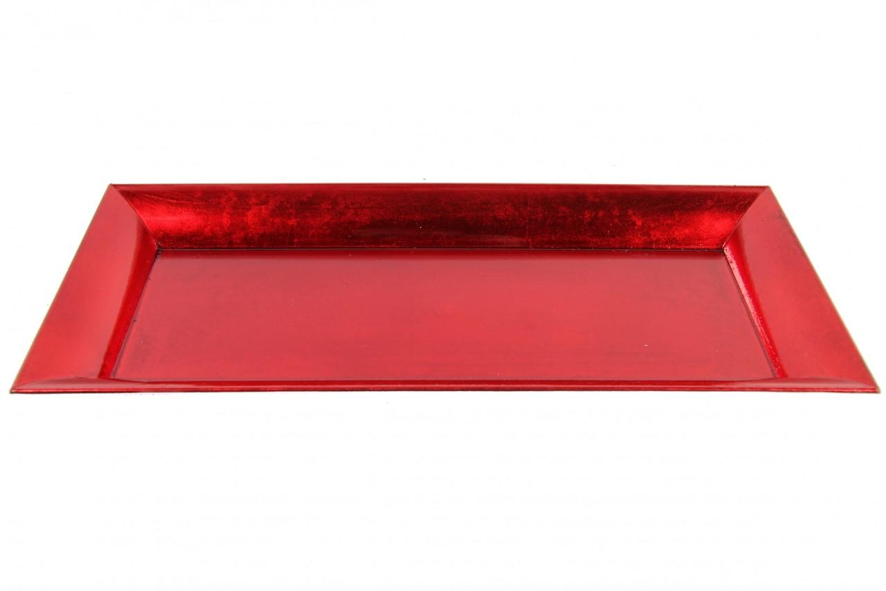 Tác aranžovací červená a patinou
