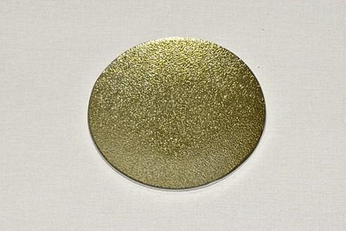 Tác skleněný zlatá perleť kruh Velikost: malý
