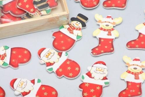 HR Figurky dřevěné vánoční