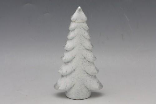 Keramický vánoční stromeček bílý Velikost: malý