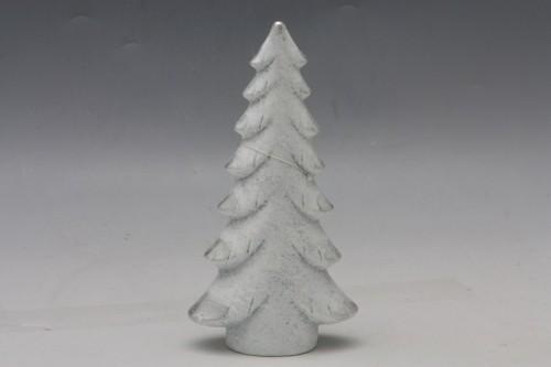 Keramický vánoční stromeček bílý Velikost: velký