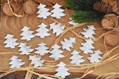 Dekorace vánoční 18ks Provedení: Stromek