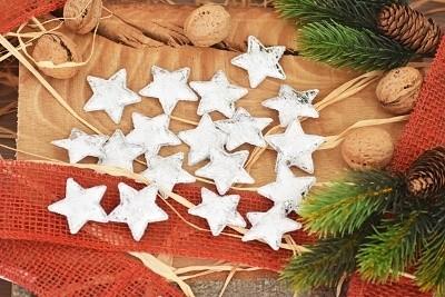 Dekorace vánoční 18ks Provedení: Hvězda