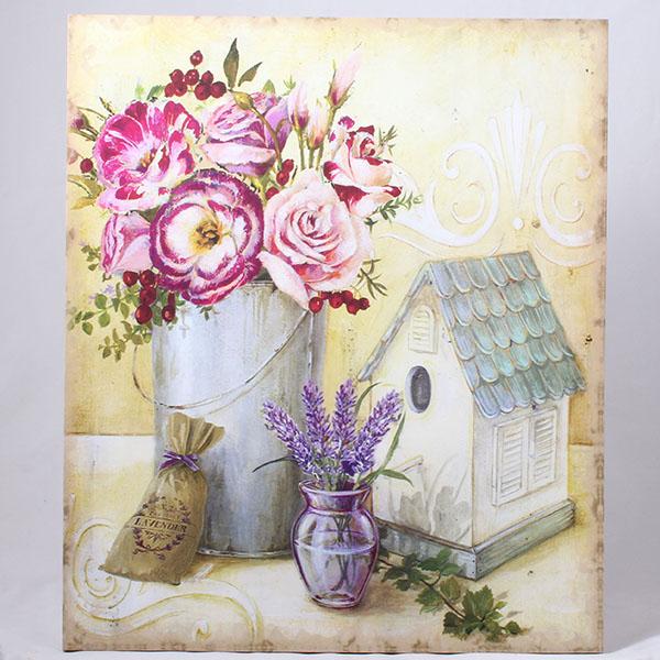 Casa de Engel Obraz na plátně s motivem květin ve váze