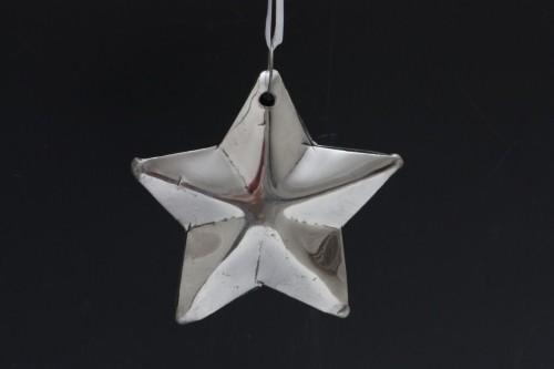 Vánoční hvězda kovová Velikost: malá