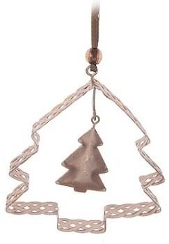 Harasim Vánoční dekorace měděná kov S motivem: stromek