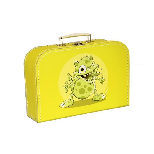 Kazeto Dětský kufřík žlutý příšerky 30cm