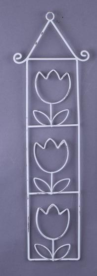Dekorace závěsná květiny 17x31x1cm Provedení: A