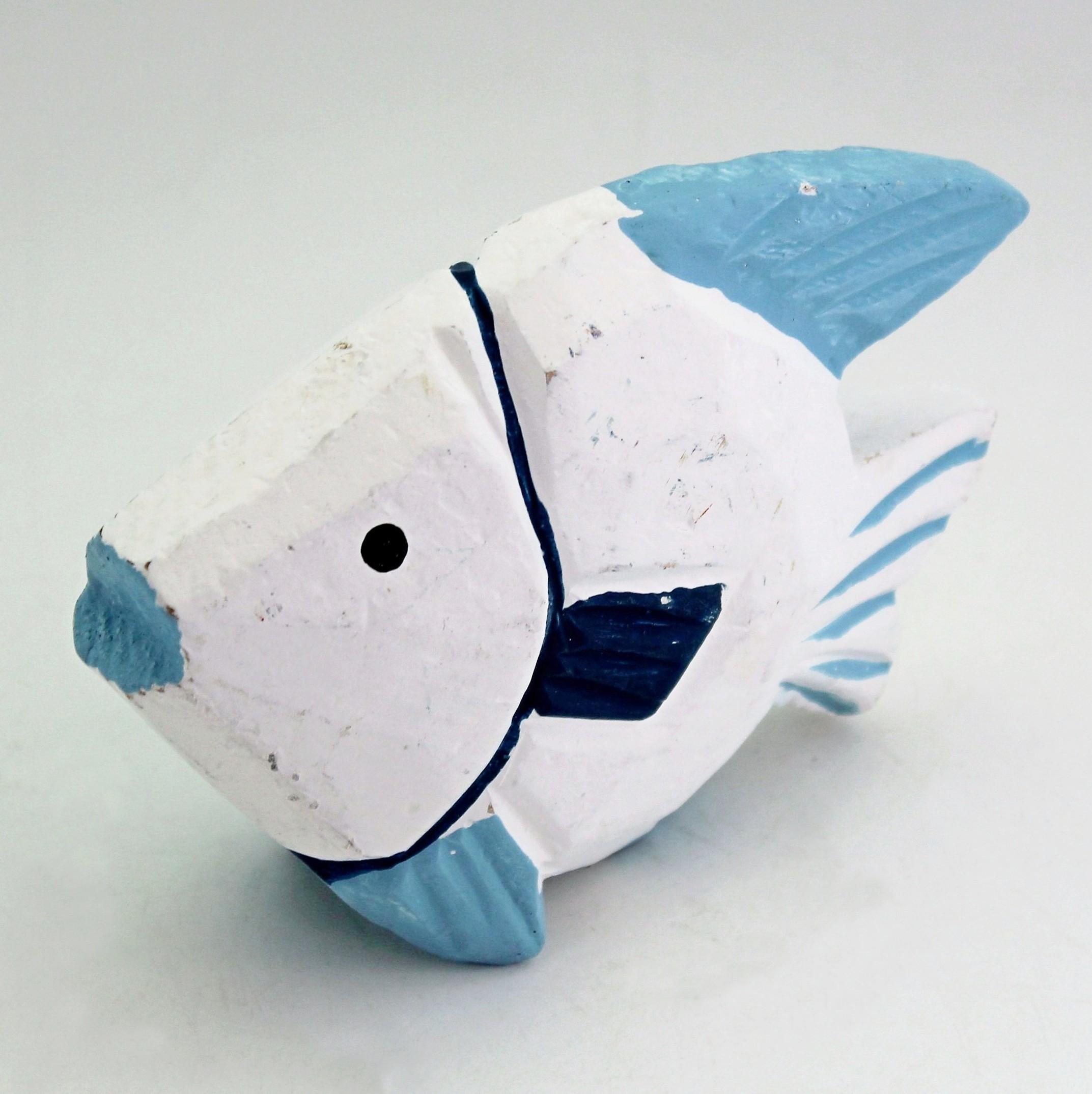 Ryba dřevěná 14x5x10cm