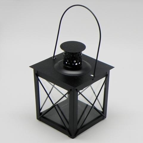 Lucerna klasik kov Barva: černá