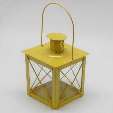 Lucerna klasik kov Barva: žlutá