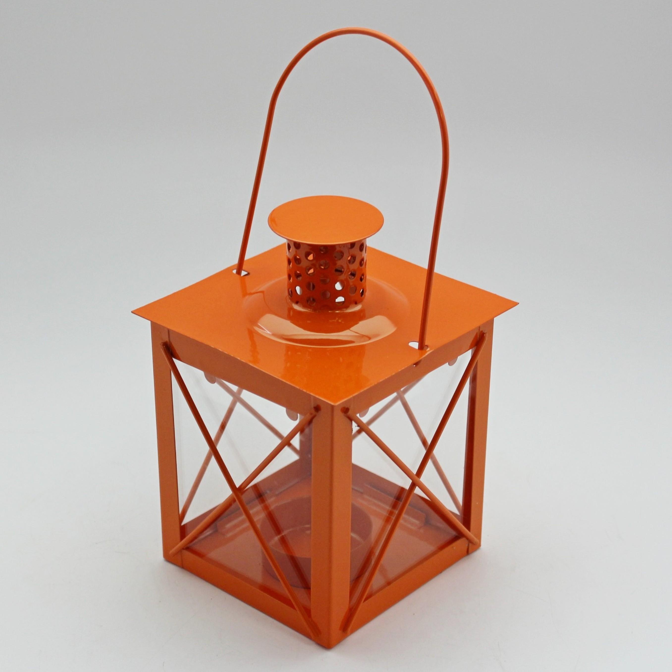 Lucerna klasik kov Barva: oranžová