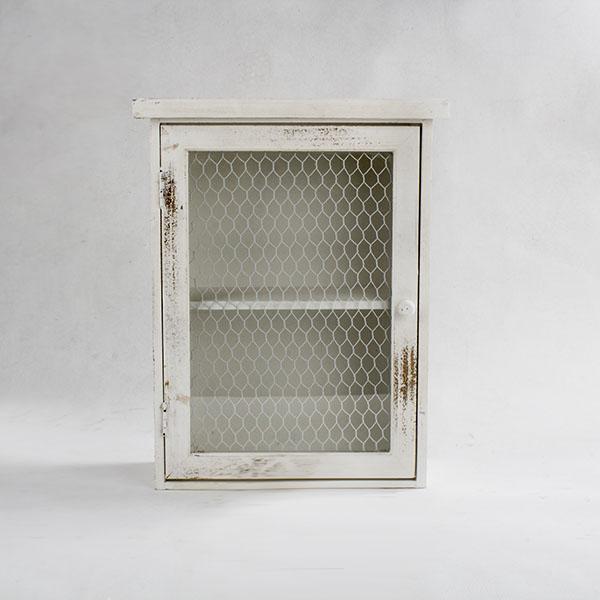 Casa de Engel Závěsná dřevěná skříňka 35x45x15cm