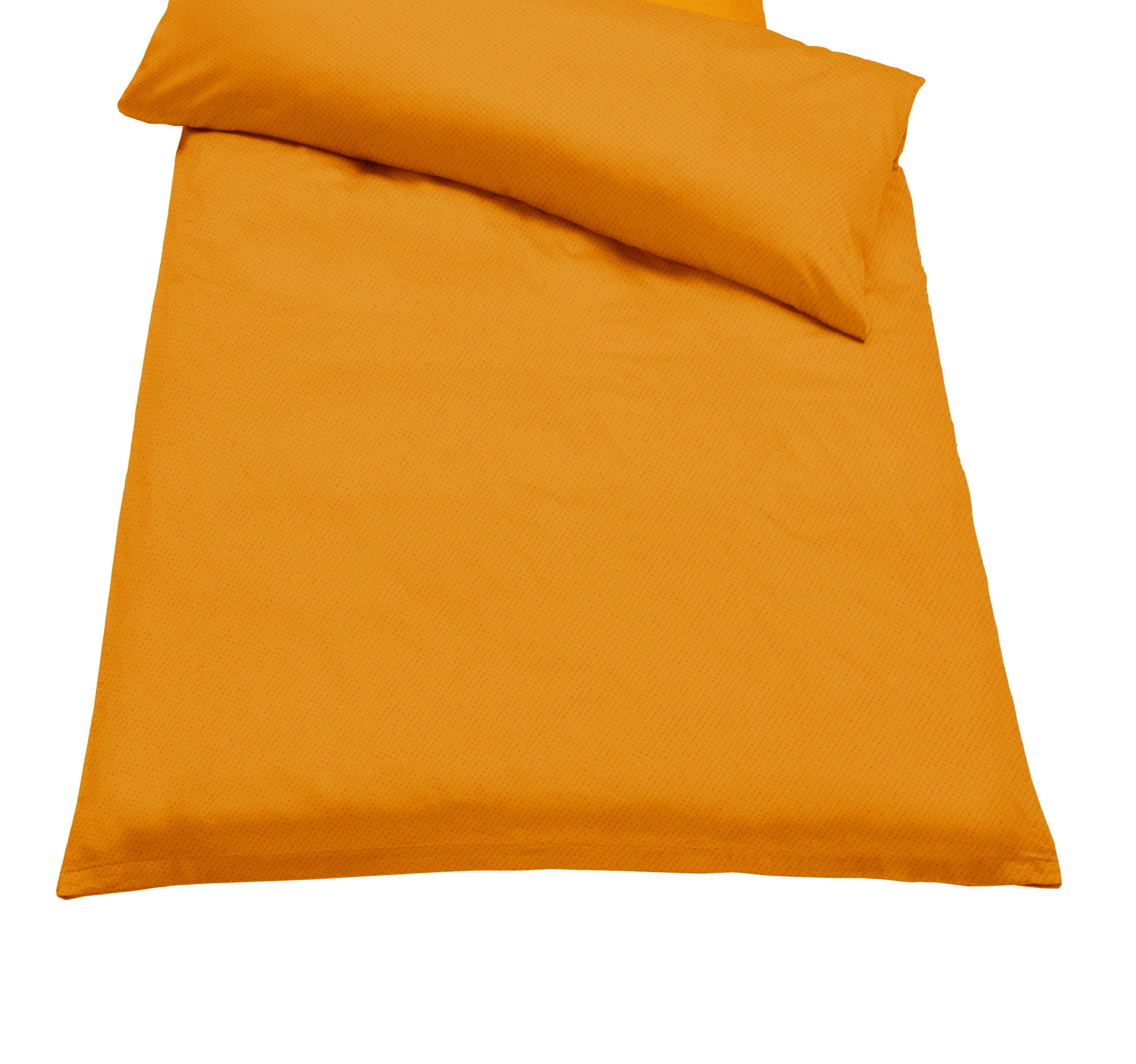 Jahu Ložní povlečení GURU melír Barva: oranžová