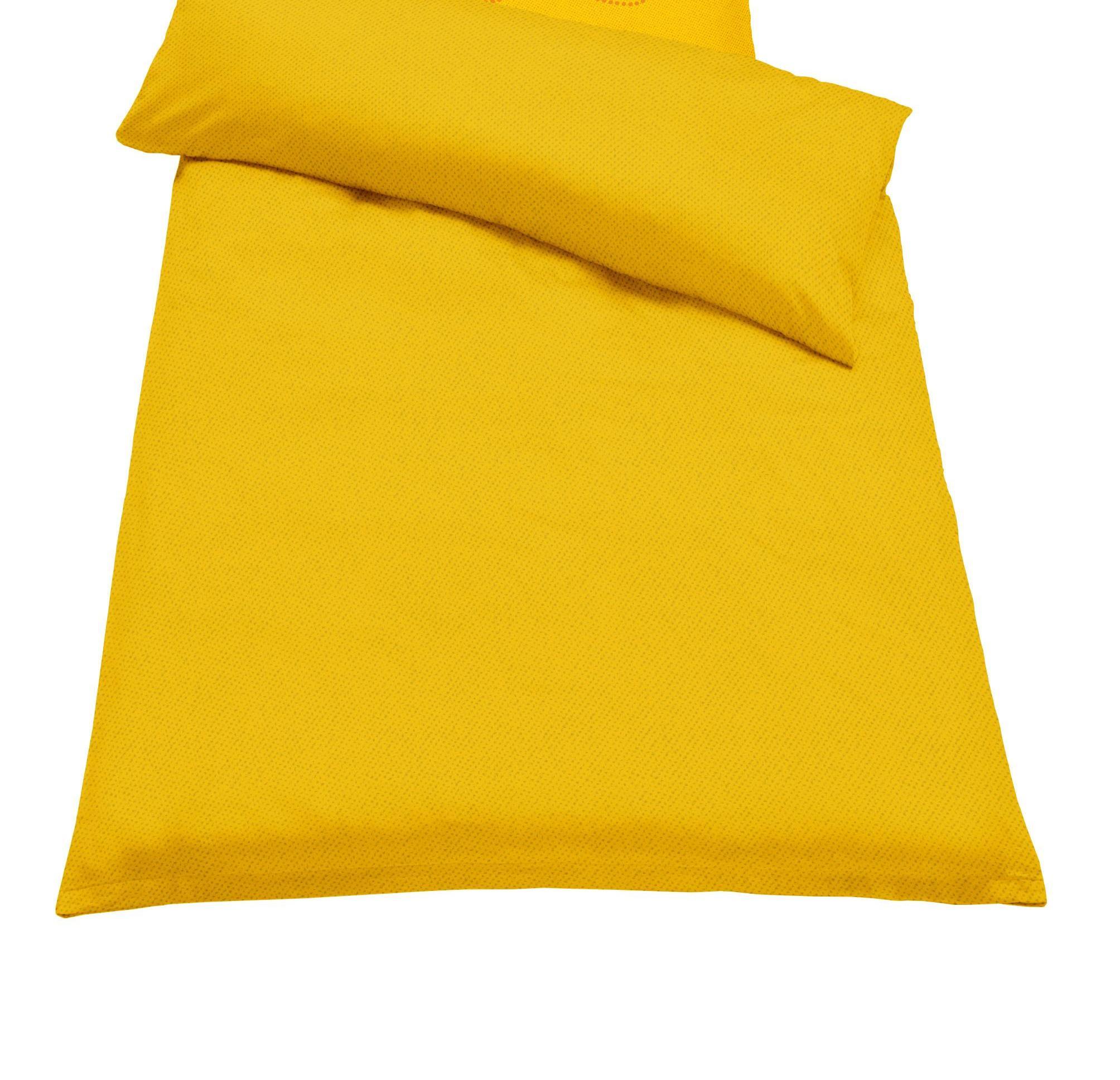 Jahu Ložní povlečení GURU melír Barva: žlutá