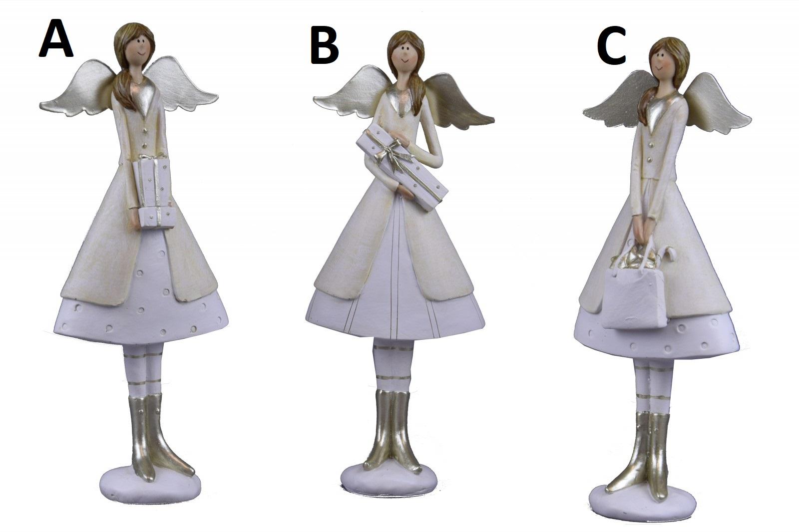 Zlatý anděl s kolovou sukní Provedení: A
