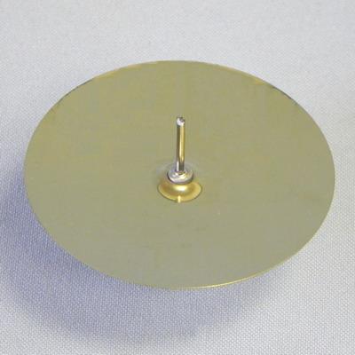 Bodec zlatý kovový set 4ks Velikost: větší
