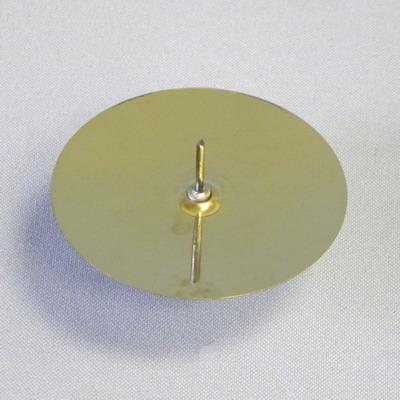 Klia Bodec zlatý kovový set 4ks Velikost: větší