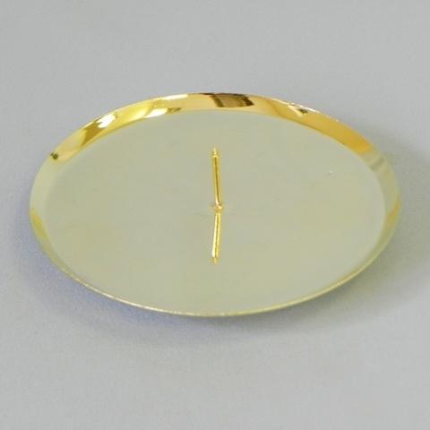 Bodec kovový zlatý Velikost: střední
