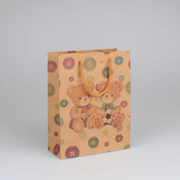 Casa de Engel Dárková taška medvídci set 12ks Velikost: střední