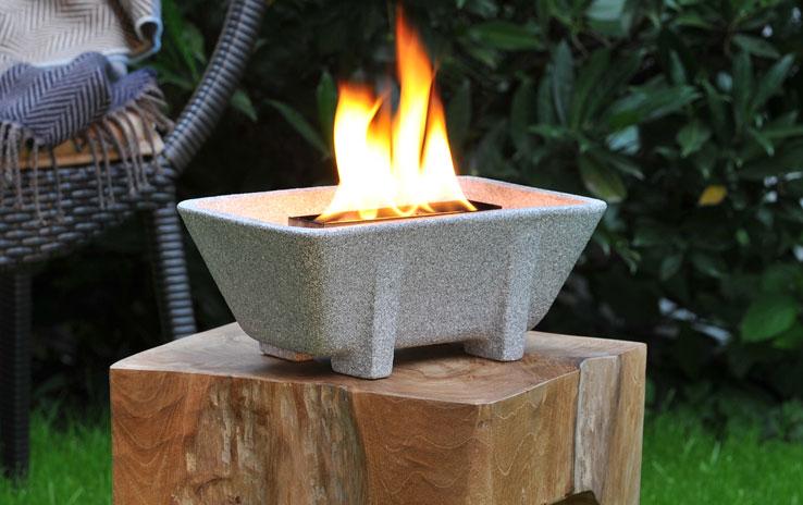 DENK Keramik Voskový hořák venkovní Granicium s víkem 29x11x17cm