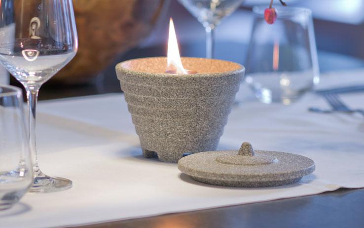 DENK Keramik Voskový hořák vnitřní Granicium 13x9cm