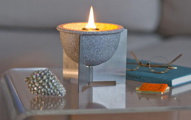 DENK Keramik Voskový hořák vnitřní Granicium 15x12cm