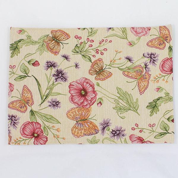Casa de Engel Látkové prostírání s motivem květin a motýlů 48 x 33 cm Rozměry: 48x33cm
