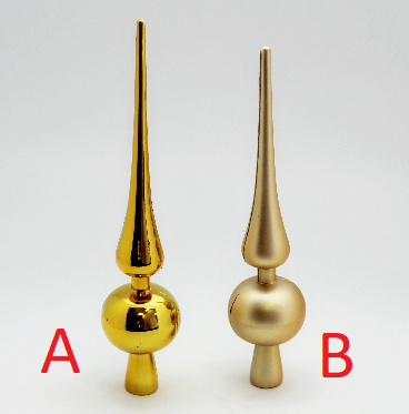 KA Vánoční špice zlatá 30cm Provedení: A