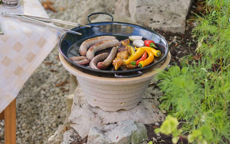 DENK Keramik Kamna blesková CosyRoast venkovní