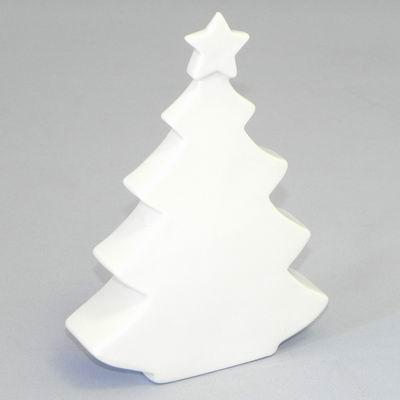 KLIA Stromeček porcelán bílý Velikost: větší