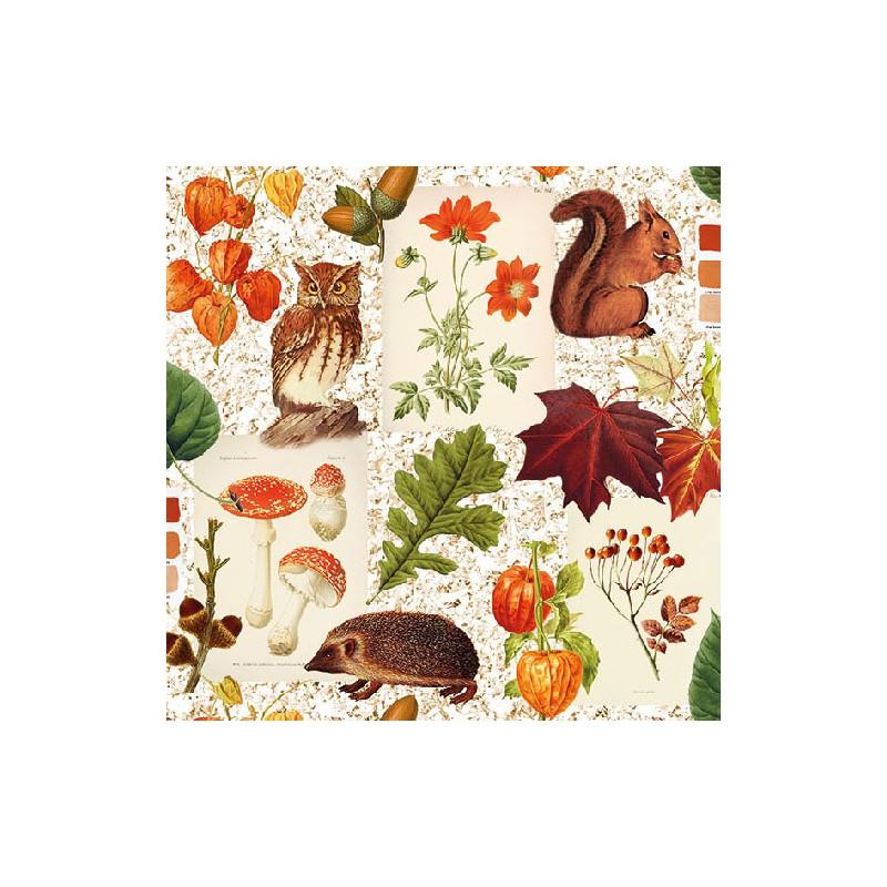 Ambiente Papírové ubrousky podzimní variace balení 20ks