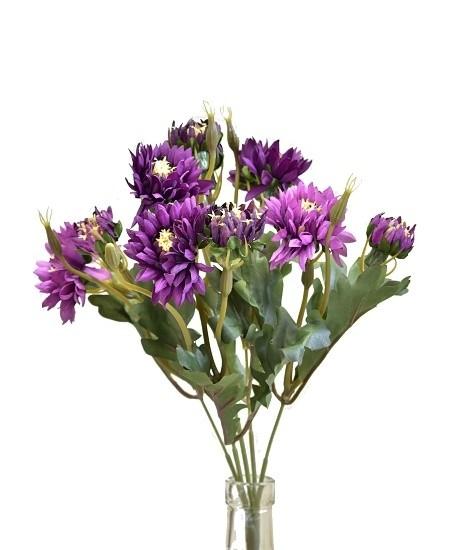 Kytice slaměnka 33cm Barva: fialová