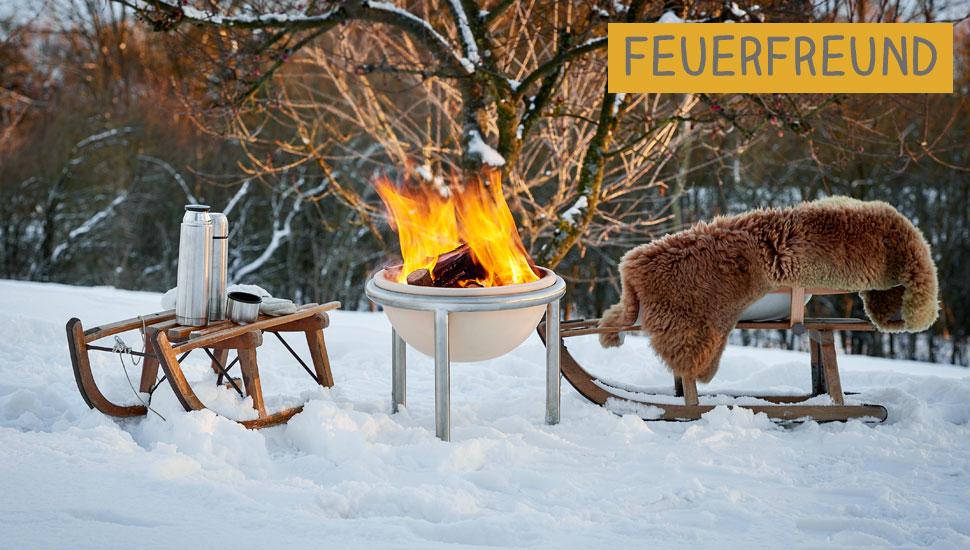 DENK Keramik Kamna venkovní Feuerfreund 49cm