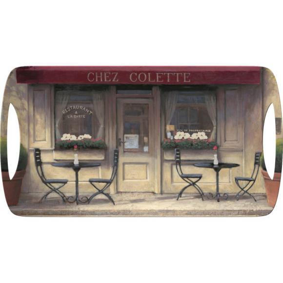 Creative Tops Servírovací tác Chez Colette Rozměry: 38x20cm