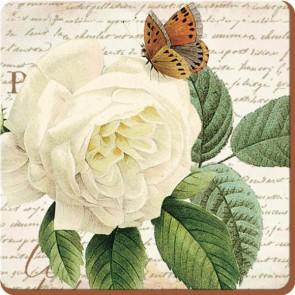 Creative Tops Korkové prostírání | Rose Garden Rozměry: 10x10cm - 6ks
